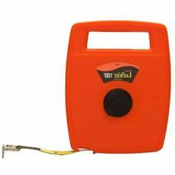 "1/2"" X 100' Hi-Viz Orange Linear Engineer's Fiberglass Tape"