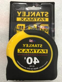 1 - 40' Stanley Fatmax Tape Measure # 33-740