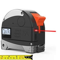 2 in 1 Lasers Tape Measure- Ameter Rechargeable Laser Line D
