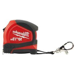 Milwaukee 10 ft. Keychain Tape Measure with LED Light