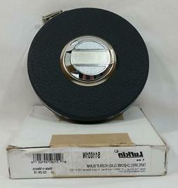 "Lufkin 100 Foot Tape Measure Spec Chrome Clad HC256 6"" Blank"