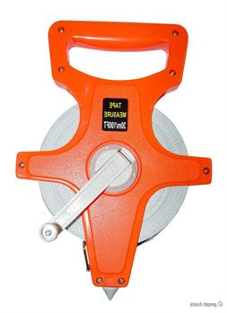 100 FT OPEN REEL MEASURING TAPE – contractor tool tools me