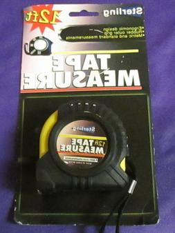 """12 FT. X 1/2"""" TAPE MEASURE WITH RETRACTABLE LOCKING BLADE"""