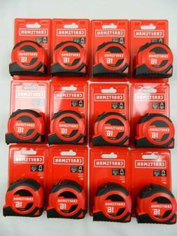 12 CRAFTSMAN SELF-LOCK 16ft AUTO LOCK TAPE MEASURE   - CMHT3