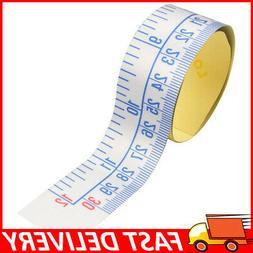 "12"" Workbench Ruler Adhesive Backed Tape Measure Waterproof"