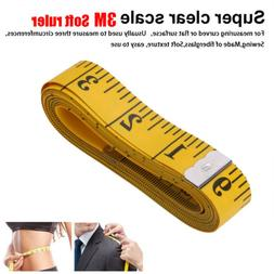 120'' Tailor Seamstress Cloth Body Ruler Tape Measure Sewing