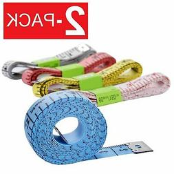 """2-Pack 60"""" Body Measuring Tailor Tape Ruler Sewing Cloth Mea"""