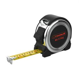 25 Ft Measuring Tape Magnetic End Hook SAE and Metric Easy R
