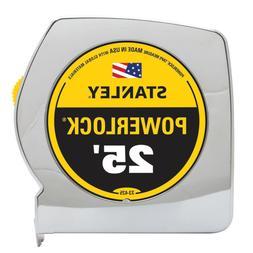 25 ft powerlock tape measure durable tool