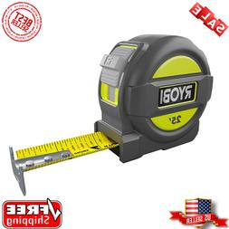 RYOBI 25 ft. Measuring Tape Overmold and Wireform Belt Clip