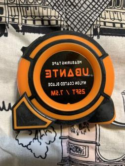 Ubante 25 FT. Tape Measure, Orange and Black