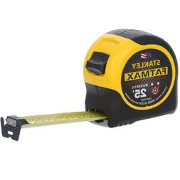 25 Ft. Tape Measure With Magnetic Tip Readable 3-rivets Slid