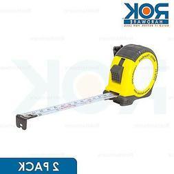 2x FASTCAP 12 FT Long Metric Duty Procarpenter Standard Meas