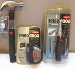3 OXO Good Grips Hand Tools - Screwdriver - Tape Measure - C