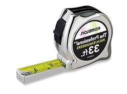 Komelon 433IEHV High-Visibility Professional Tape Measure bo