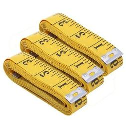 3pcs Tape Measure 300cm/120 Inch Double-scale Soft Tape Weig