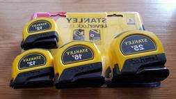 4 PACK Stanley Lever Lock Measuring Tape Handyman Measure 2