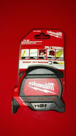 4 PACK of Brand NEW Milwaukee 16' Magnetic Tape Measure p/n
