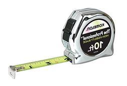 Komelon 410HV High-Viz Professional Tape Measure, 10-Feet by