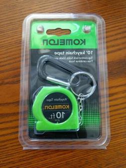 Komelon 4110CS Keychain Tape Measure Acrylic Coated Steel Bl