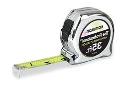 Komelon 435HV High-Visibility Professional Tape Measure, 35-
