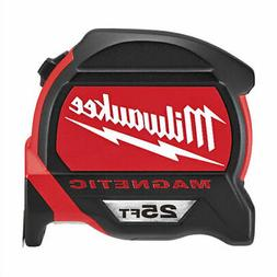 Milwaukee 48-22-7125B 25ft Magnetic Tape Measure