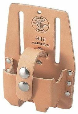 KLEIN TOOLS 5194 Tape Measure Holder,Leather,10 to 12 ft