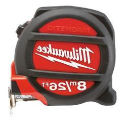 Milwaukee 48-22-5225 26'/8M Magnetic Tape Measure