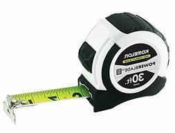 "Komelon 52430; 30' x 1.06"" Powerblade II Tape Measure, ABS C"