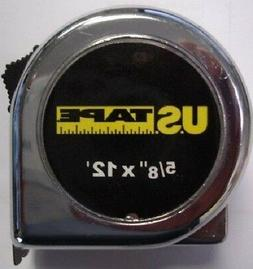 "US Tape 54012B 5/8"" x 12' Tape Measure"