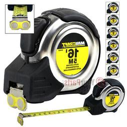 "6 Pack 16' FT x 3/4"" Auto Locking Tape Measure Metric SAE Lo"