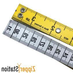 "60"" Prym Quality Professional Tailors Tape Measure 4"" Metal"