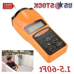 60Feet Electronic Digital Ultrasonic Laser Distance Measure