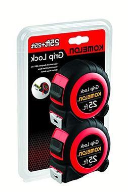 Komelon 6225TW 25-Foot Grip Lock Tape Measure