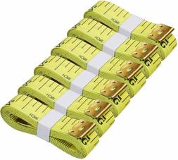 6PCS Soft Tape Measures Double-Scale 60-Inch/150cm Soft Tape