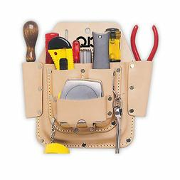 6Pkt Electricians Tool Pouch CUSTOM LEATHERCRAFT Tool Pouche