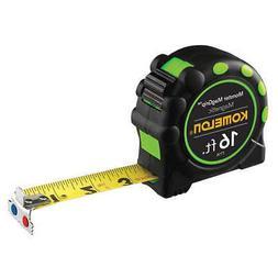 "KOMELON 7116 16 ft. Magnetic Tip Tape Measure, 1"" Blade"