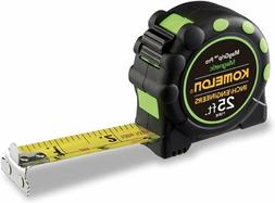 """Komelon 7125Ie; 25' X 1"""" Magnetic Monster Maggrip Tape Measu"""