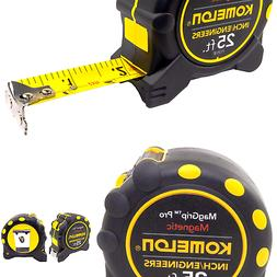 Komelon 7125IE Monster MagGrip 1 Inch X 25 Ft Measuring Tape