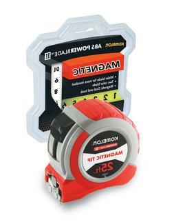 Komelon 73425 Tape Measure 25 FT / Magnetic dual end hook an
