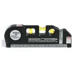 Aligner Laser Level Horizontal Vertical Line Measure Tape Ru