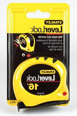 Stanley Tools Auto Locking Tape Rule, 3/4 x 16ft, Plastic Ca