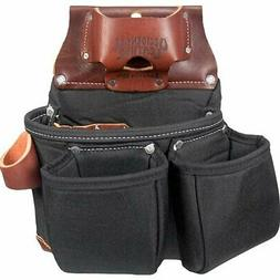 Occidental Leather B8018DB OxyLights 3 Pouch Tool Bag - Blac
