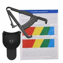 Body Fat Monitors Fat Tester Body Skinfold Tape Measurement