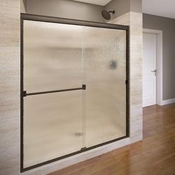 Basco Classic Sliding Shower Door, Fits 40-44 inch opening,