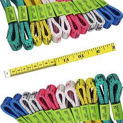 FF Elaine 24 Pcs Double-Scale 60-Inch/150cm Soft Tape Measur