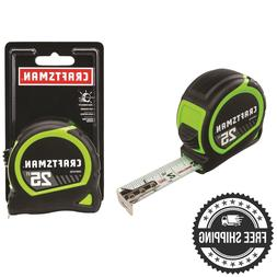 CRAFTSMAN Easy Read High Visibility 25 ft Tape Measure with