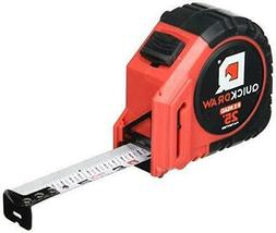 QUICKDRAW PRO EASY-READ Self Marking 25' Foot Tape Measure -
