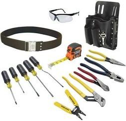 Klein Tools Electrician's Tool Set  Kit Electrical Screwdriv