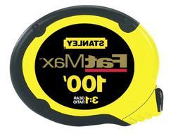 Stanley Tools FatMax Long Tape Measure, 100ft